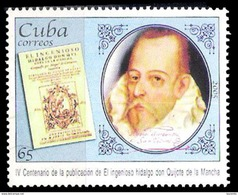 7039  Miguel De Cervantes - El Quijote - 2004 - MNH - Free Shipping - 1,50 - Ecrivains