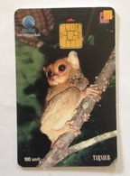 Indonesie Telefoonkaart - Telkom Indonesia (Tarsier Monkey) 100 Unit (Used) - Indonesia