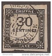 RARE NUANCE De Papier  Sur CHAMOISE Du  N°6  TBE/LUXE - Portomarken
