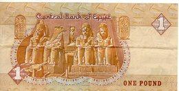 BILLET ONE POUND EGYPTE - Egypte
