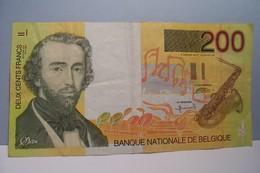 200 - DEUX CENTS  FRANCS - BANQUE NATIONALE DE BELGIQUE - Belgium