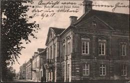 !  Alte Ansichtskarte 1917, Mitau Bach Straße Palast Medem, Feldpost Stab 31. Inf. Div., Wittenförden Bei Schwerin - Lettonie