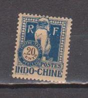 INDOCHINE              N°  YVERT  TAXE   41    NEUF SANS GOMME        ( SG  013 ) - Indochina (1889-1945)