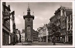 !  Alte Ansichtskarte 1942 Elbing, Markttor - Polen