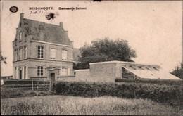 !  Alte Ansichtskarte 1915, Bixschoote, Gemeente School, Schule, Westflandern - Langemark-Poelkapelle