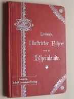 RHEINLANDE Nebst BERGSTRASSE ODENWALD Und TAUNUS ( Adolf Lesimple) Auflage 10 - 1907 / 116 Pag. ! - Bade-Wurtemberg