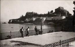 ! Alte Fotokarte 1938 Citadelle Corfou, Griechenland, Korfu - Griechenland