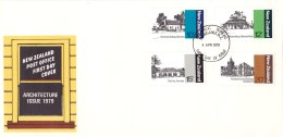 New Zealand 1979 Architecture FDC - FDC