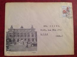 Paris L'Opera - Marcophilie (Lettres)
