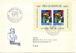 SWITZERLAND FDC 1-12-1962 Pro Juventute Mini Sheet - Pro Juventute