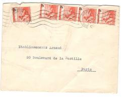 2678 - TP Surchargés - Postmark Collection (Covers)