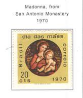 Brasile PO1970 Madonna Monastero S.A.  Scott.1163+See Scan On Scott.Page - Brasile