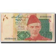 Billet, Pakistan, 20 Rupees, 2007, KM:46c, NEUF - Pakistan