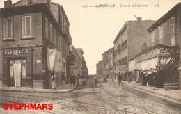 CPA 13 : N°126 - MARSEILLE - CHEMIN D'ENDOUME - édition IP - Endoume, Roucas, Corniche, Beaches