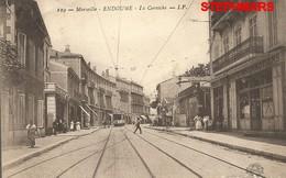 CPA 13 : N°129 - MARSEILLE - ENDOUME - LA CORNICHE - TRAMWAY - édition IP GUIRAUD - Endoume, Roucas, Corniche, Beaches