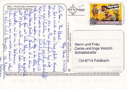 Karte In Die Schweiz (br3856) - 1991-00 Briefe U. Dokumente