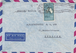 Brief In Die Schweiz (br3860) - Norway