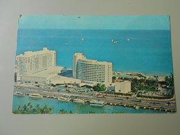 ETATS UNIS FL FLORIDA MIAMI BEACH OCEANFRONT 44th TO 47th STREETS HOTEL CABANA AND YACHT CLUB - Miami Beach