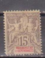 MADAGASCAR              N°  YVERT  44    NEUF SANS GOMME        ( SG  013 ) - Madagascar (1889-1960)