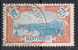 """MARTINIQUE N°123  Avec Belle Oblitération De """"Terres Sainville"""" - Gebraucht"""