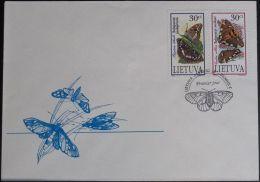 LITAUEN 1995 Mi-Nr. 589/90 FDC - Lithuania