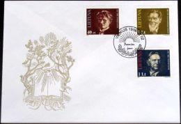 LITAUEN 1996 Mi-Nr. 603/05 FDC - Lithuania