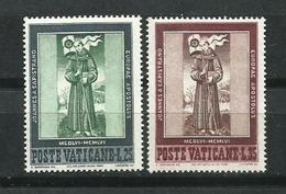 Vaticano. 1956_5º Centenario De La Muerte De San Juan De Capestrano. - Vaticano (Ciudad Del)