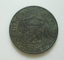 Netherlands East Indies 1 Cent 1914 - Dutch East Indies