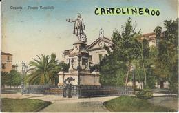 Campania-caserta Piazza Vanvitelli Banca D'italia Animata Primi 900 - Caserta