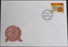 LITAUEN 1997 Mi-Nr. 651 FDC - Lithuania