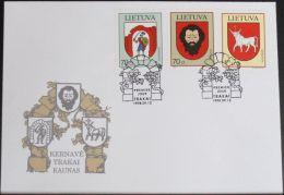 LITAUEN 1998 Mi-Nr. 673/75 FDC - Lituanie