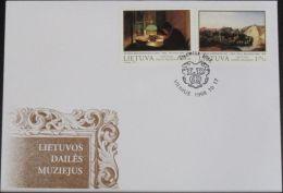 LITAUEN 1998 Mi-Nr. 678/79 FDC - Lituanie
