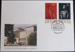 LITAUEN 1999 Mi-Nr. 712/13 FDC - Lithuania