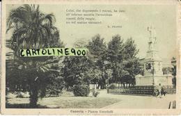 Campania-caserta Citta Piazza Vanvitelli Veduta Monumento - Caserta