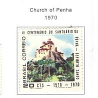 Brasile PO1970 Chiesa Di Penha    Scott.1156+See Scan On Scott.Page - Brasile
