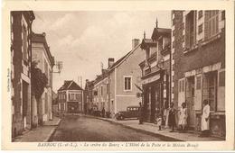 Barrou - Le Centre Du Bourg, L'hotel De L Aposte Et La Maison Brault - Other Municipalities