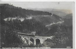 AK 0907  Mariazeller Alpenbahn - Sturzgraben-Viadukt Bei Puchenstuben / Verlag Ledermann Um 1928 - Eisenbahnen