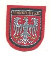 FRANKFURT  A.M. - Besticktes Stoffabzeichen - Ecusson En Tissu Brodé (hol) - Stoffabzeichen