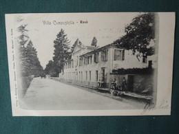 ROSA' - VICENZA - VILLA COMPOSTELLA - VIAGGIATA 1902 - ANIMATA - Vicenza