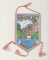 KÖNIGSSEE / BERCHTESGADEN. - Wimpel / Fanion (+/- 10 X 15 Cm) (hol) - Souvenirs