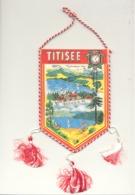 TITISEE. - Wimpel / Fanion (+/- 10 X 15 Cm) (hol) - Souvenirs