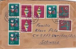 Brief In Die Schweiz (br3867) - [7] Federal Republic