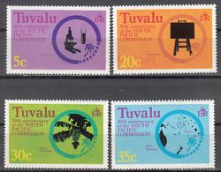 TUVALU   SCOTT NO. 46-49     MNH     YEAR  1977 - Tuvalu