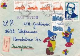 Brief In Die Schweiz (br3883) - 1944-.... République