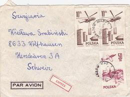 Brief In Die Schweiz (br3885) - 1944-.... Repubblica
