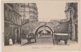 CARTE POSTALE   ASNIERES 92  Les Deux Voutes - Asnieres Sur Seine