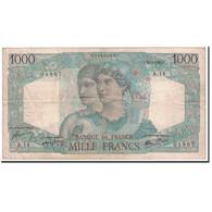 France, 1000 Francs, 1945, 1945-04-26, TB, Fayette:41.2, KM:130a - 1871-1952 Anciens Francs Circulés Au XXème