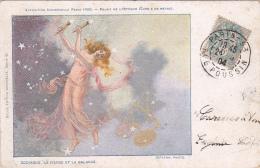 Illustration -- La Vierge Et La Balance -- Exposition Universelle Paris 1900 -- Palais De L'Optique - Illustrateurs & Photographes