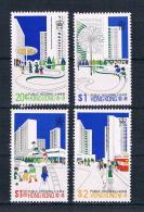 Hong Kong 1981 Gebäude Mi.Nr. 376/79 Kpl. Satz ** - Unused Stamps