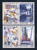 Schweden 1985 Mi.Nr. 1336/39 Gestempelt - Gebraucht